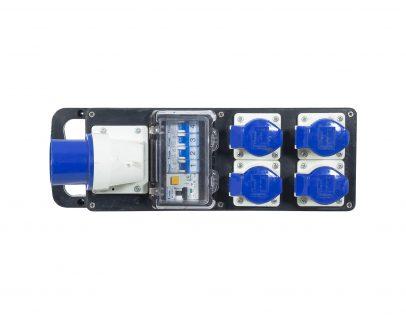 Rubber Box 32A Single Phas Distro 1