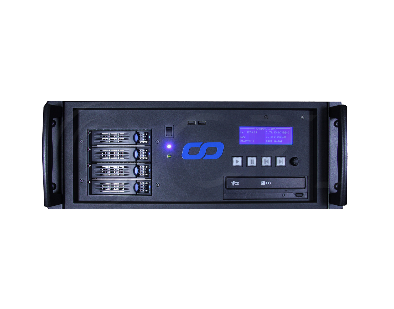 Christie Pandoras Box Pro Quad Media Server