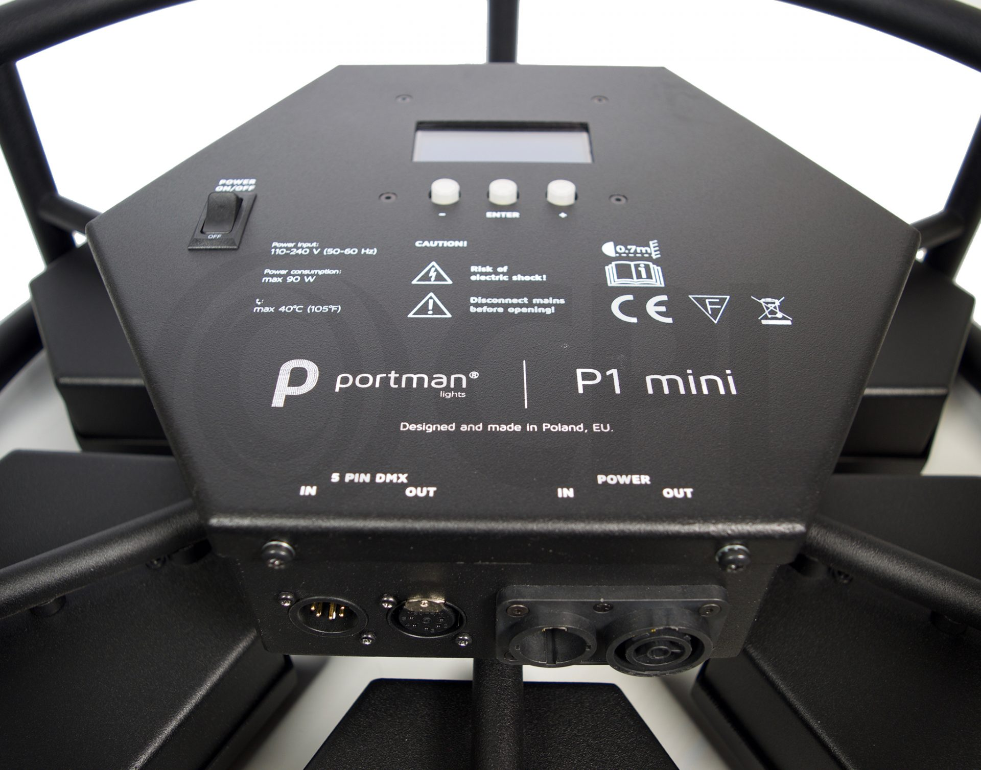 Portman P1 Mini LED Inputs