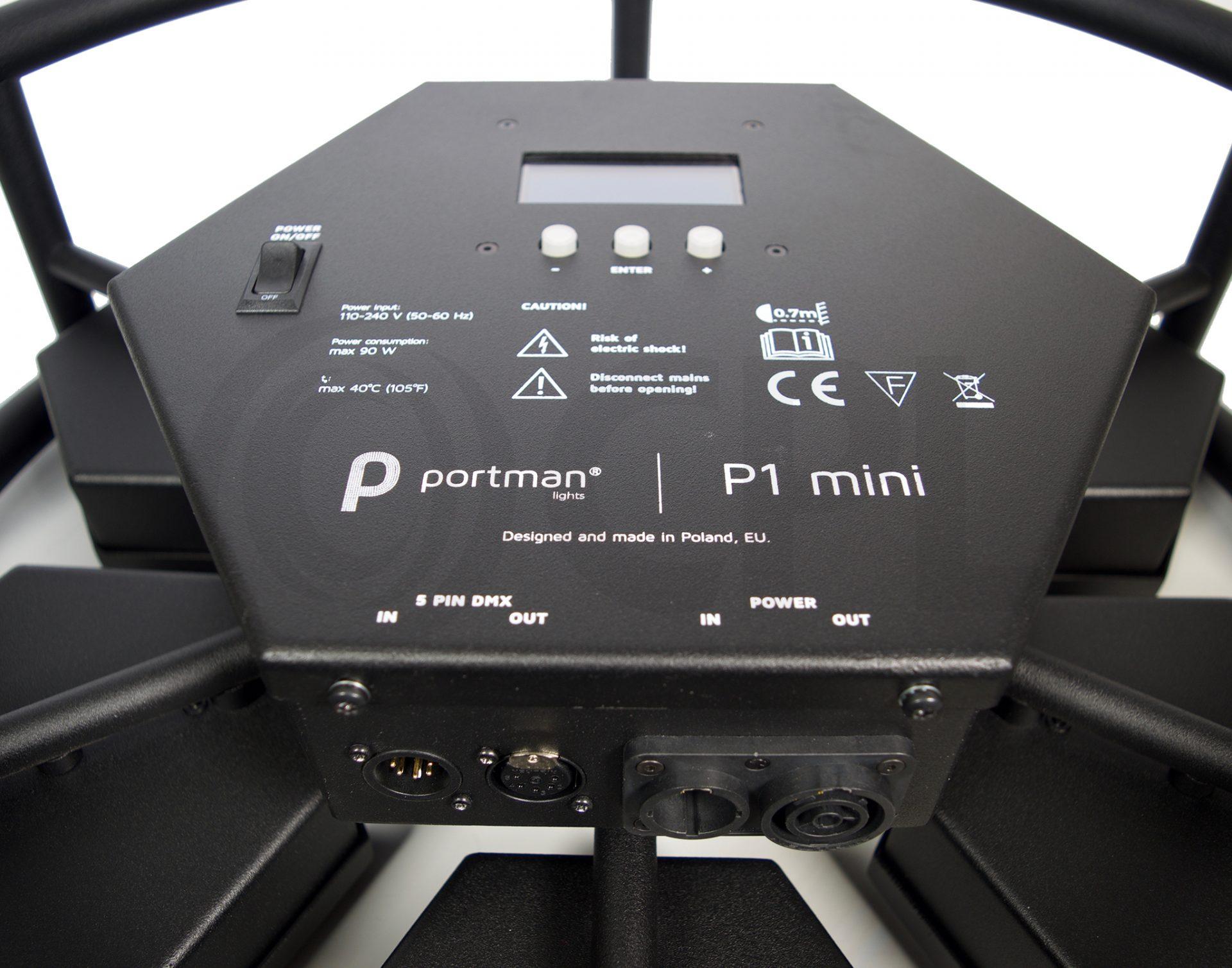 Portman P1 Mini LED Inputs