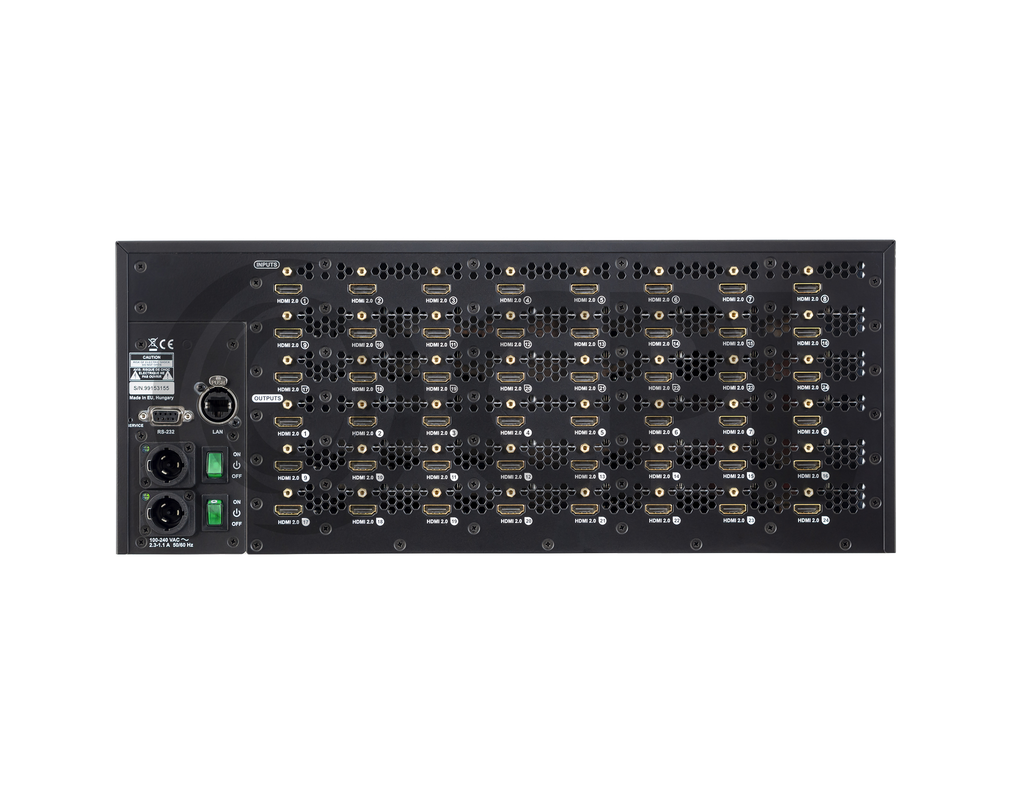 MX2-24x24-HDMI20 Back