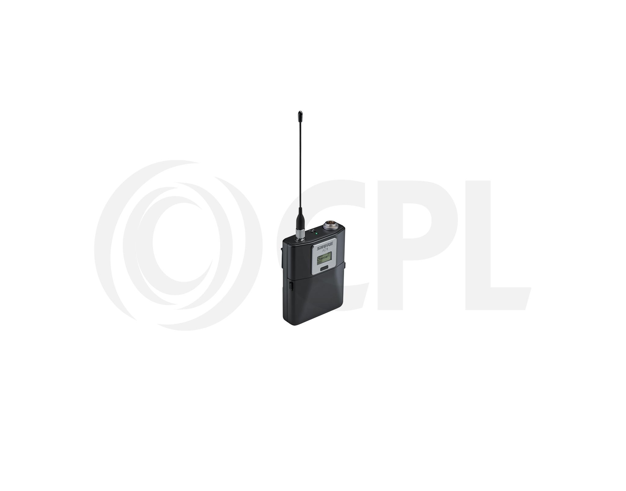 AD1 Bodypack Transmitter