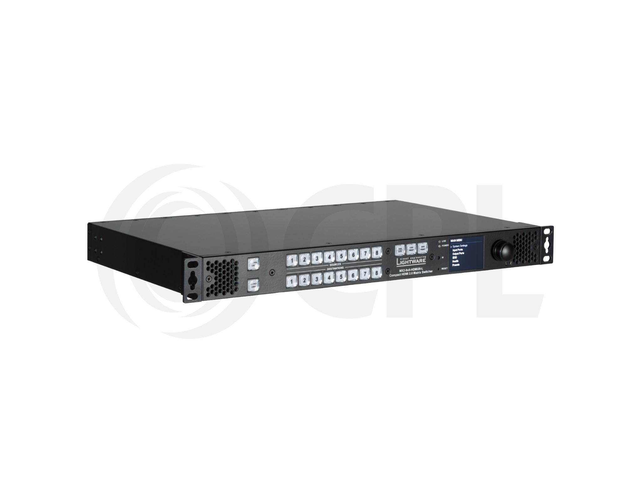 MX2-8X8-HDMI20-L